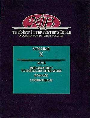 New Interpreter's Bible Volume X