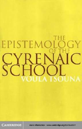 The Epistemology of the Cyrenaic School [Adobe Ebook]