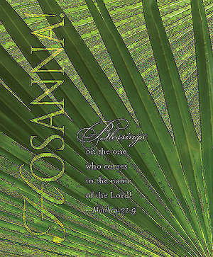 Hosanna! Palm Sunday Bulletin 2013, Large (Package of 50)