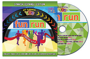 Brentwood Benson VBS 2015 Fun Run Sing-a-long DVD in Spanish