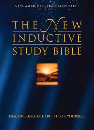 The New Inductive Study Bible Burgundy Genuine Leather Indexed with Concordance