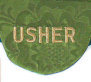 Pocket Usher Badge with