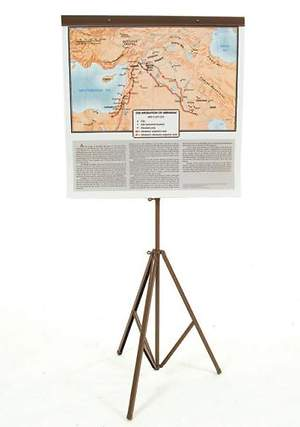 Class maps, set of 8 on tripod