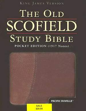 The Old Scofield Study Bible King James Version Pocket Edition