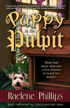 Puppy in the Pulpit
