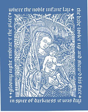 Madonna and Child Christmas Cards #5287 [Pack of 12 w/envelope]