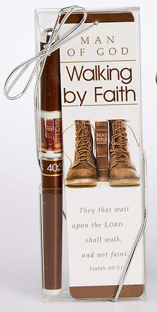 Man of God Pen & Bookmark Gift Set