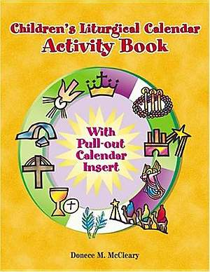 Childern's Liturgical Calendar Activity Book