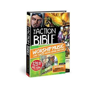 The Action Bible With CD