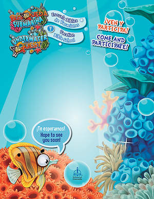 Concordia Bilingual VBS 2015 Underwater Quest Promotional Poster