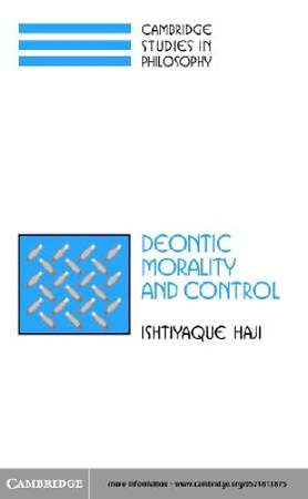 Deontic Morality and Control [Adobe Ebook]