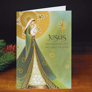 Jesus No Greater Gift Christmas Boxed Cards
