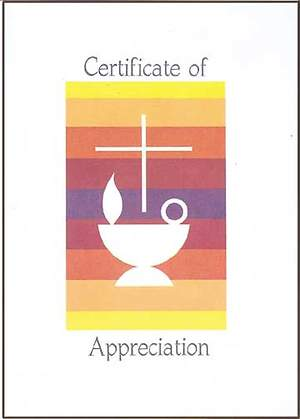 Certificate of Appreciation (Package of 12)