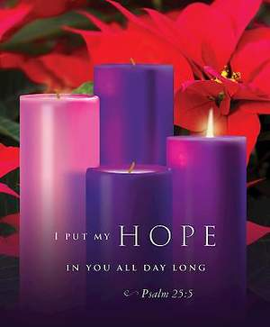 Hope Advent Sunday 1 Bulletin 2015, Large (Package of 50)