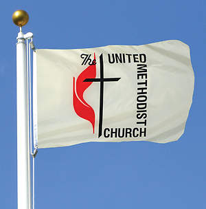 United Methodist Outdoor 4 X 6 Nylon Flag