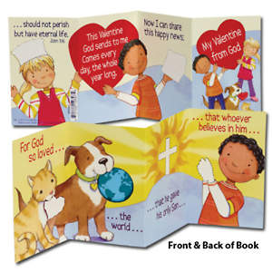 My Valentine From God Mini Book with Stickers (Pack of 12)