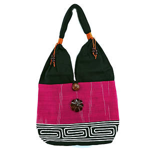 Thai Cloth Bag - Pink