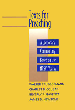 Texts for Preaching Year A
