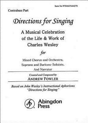 Directions for Singing - Contrabass