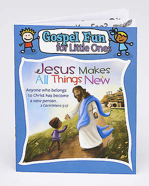 Jesus Makes All Things New - Activity Book (Pk 12)