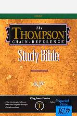 Thompson-Chain Reference Study Bible-KJV