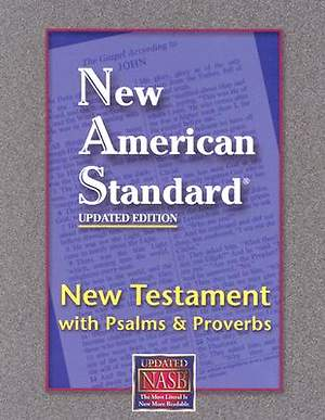 New Testament with Psalms and Proverbs-NASB-Pocket Size