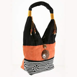 Thai Cloth Bag - Orange