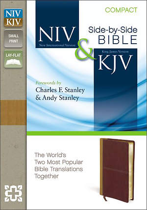 New International Version and King James Version Side-By-Side Bible, Compact