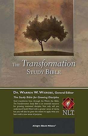 The Transformation Study Bible New Living Translation