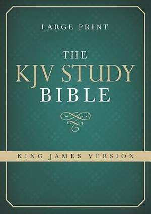 The Large Print KJV Study Bible