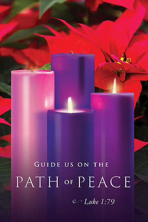 Path of Peace Advent Sunday 2 Bulletin 2015, Regular (Package of 50)