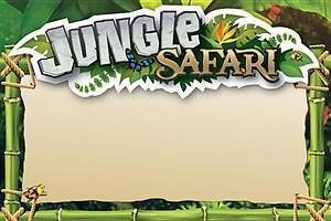 Standard VBS14 Jungle Safari Jungle Name Tag Cards (10)