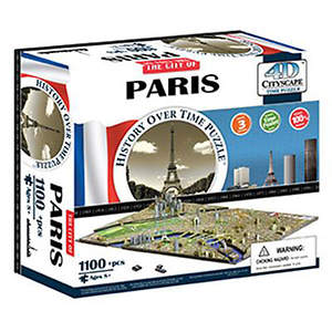 4D Paris Cityscape Time Puzzle