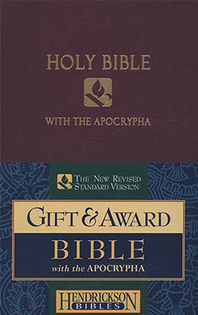 Gift & Award Bible-NRSV-Apocrypha