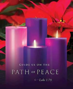 Path of Peace Advent Sunday 2 Bulletin 2015, Large (Package of 50)