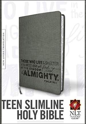 Teen Slimline Bible New Living Translation