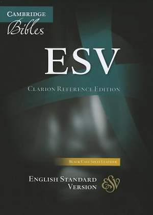 ESV Clarion Reference Black Calf Split Es483