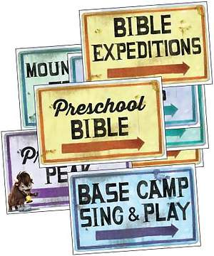 Group Easy VBS 2015 Station Sign Posters (Set of 12)