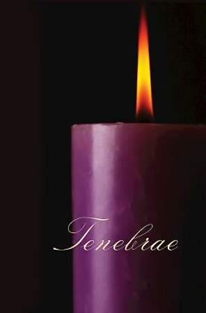 Tenebrae Bulletin 2014, Regular (Package of 50)