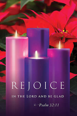 Rejoice Advent Sunday 3 Bulletin 2015, Regular (Package of 50)