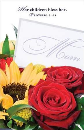 Flowers Mother`s Day Bulletin 2014, Regular (Package of 50)