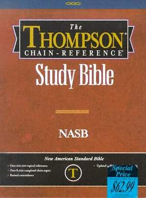 Thompson Chain-Reference Study Bible-NASB