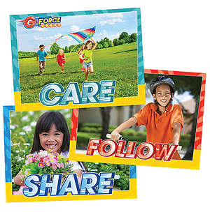 Vacation Bible School (VBS) 2015 G-Force Decorating Poster Pak