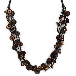 Thai Coconut Necklace - 4-strand