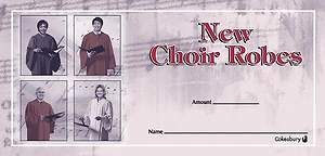 New Choir Robes Offering Envelope (Package of 100)