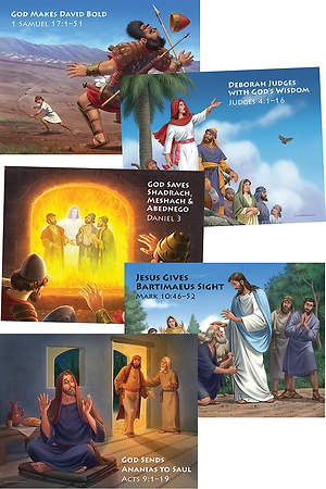 Concordia VBS 2015 Camp Discovery Bible Story Posters (5 Unique 22x17)