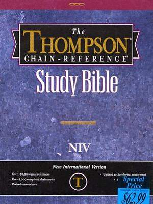 Bible NIV Thompson Chain Reference