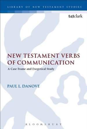 New Testament Verbs of Communication
