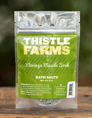 Thistle Farms Bath Salt - Moringa Muscle Soak