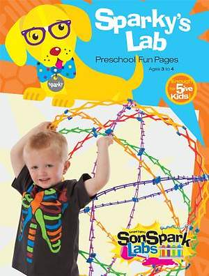 Gospel Light SonSpark Sparky's Lab Fun Pages • Preschool Ages 3&4  (enough for 5 kids)